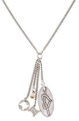 Celine Charm Pendant Necklace