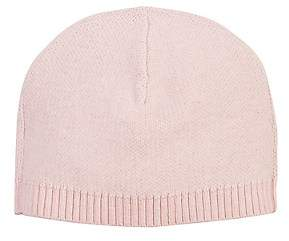 Barneys New York Kids' Stockinette-Stitched Hat - Pink