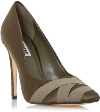 Dune LADIES ARCHIVVE - Satin Pointed Toe Court Shoe