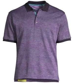 Robert Graham Paisley Polo Shirt