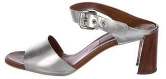 Stella McCartney Metallic Slide Sandals