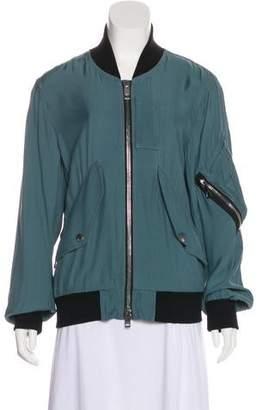 Burberry Zip Bomber Jacket