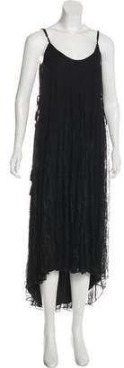Haute Hippie Silk Maxi Dress