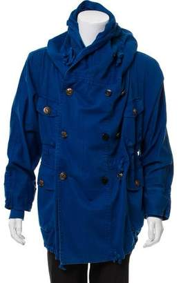 Kapital Wool Hooded Ring Coat