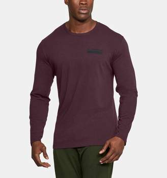 Under Armour Men's UA Back Graphic Long Sleeve T-Shirt