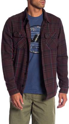 RVCA Camino Regular Fit Flannel Shirt