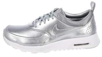 Nike Metallic Leather Sneakers