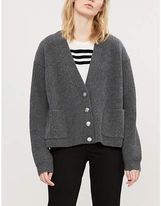 Claudie Pierlot Mesor wool-blend cardigan
