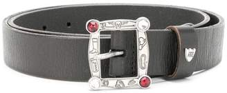 HTC Los Angeles embellished buckle belt