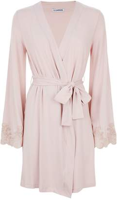 I.D. Sarrieri Lace Embroidered Robe