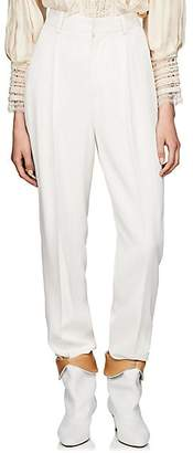 4537f051d3 Isabel Marant Women's Poyd High-Rise Trousers - White