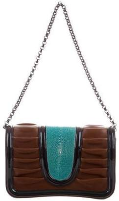 Pauric Sweeney Leather Shoulder Bag