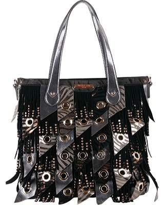 Nicole Lee Danielle Fringe Hobo Bag