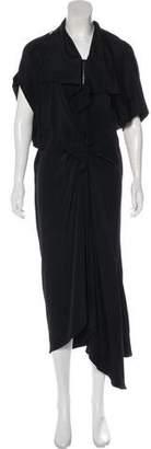 3.1 Phillip Lim Short Sleeve Maxi Dress