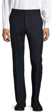Saks Fifth Avenue Textured Wool-Blend Pants