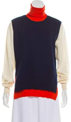Celine Wool Colorblock Sweater