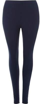 Dorothy Perkins Womens **DP Curve Navy High Waisted Leggings