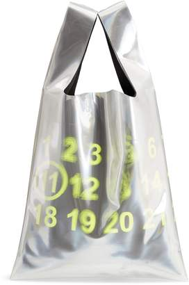 Maison Margiela PVC & Leather Shopper Bag