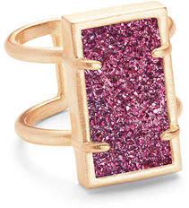 Kendra Scott Lennox Druzy Ring