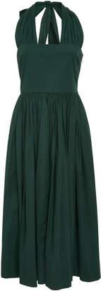 Rochas Poplin Halter Dress