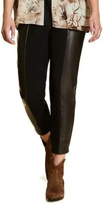Marina Rinaldi Plus Size Ravalle High-Waist Technical Bi-Stretch Pants