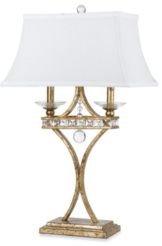 AF Lighting Candice Olson Aristocrat Table Lamp (Gold)