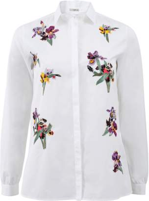 Etro Floral Button Down Blouse