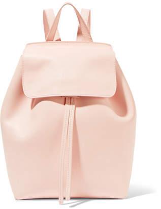 Mansur Gavriel Mini Leather Backpack - Blush