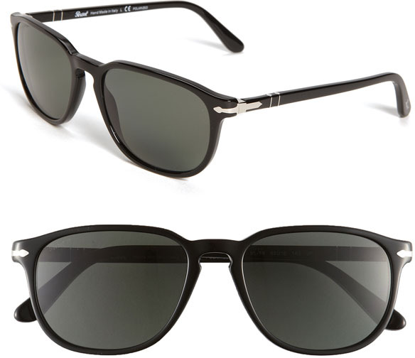 Persol Polarized 55m Keyhole Sunglasses