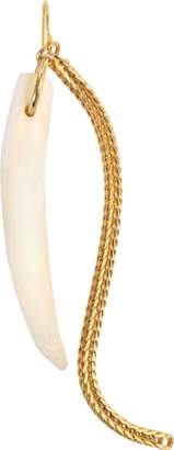 Aris Geldis Horn and Chain Earrings