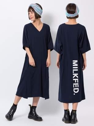Milkfed. (ミルクフェド) - ミルクフェド BACK STENCIL DRESS