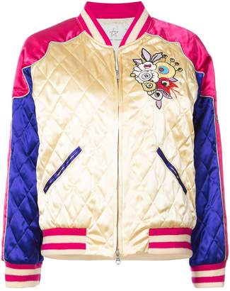 Tsumori Chisato quilted bomber jacket