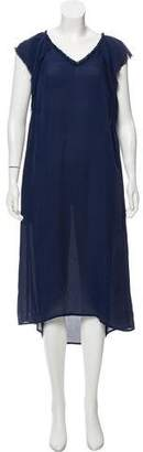 Raquel Allegra Silk Midi Dress w/ Tags