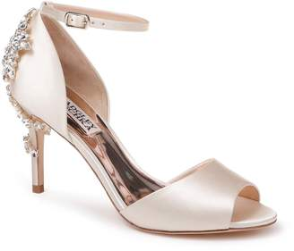 Badgley Mischka Vienna Crystal Embellished Ankle Strap Pump