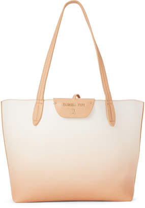 Patrizia Pepe Beige & White Reversible Shoulder Bag