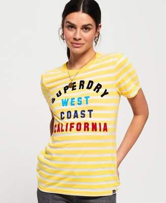 3ef4b82a7a2fa Superdry West Coast Stripe T-Shirt