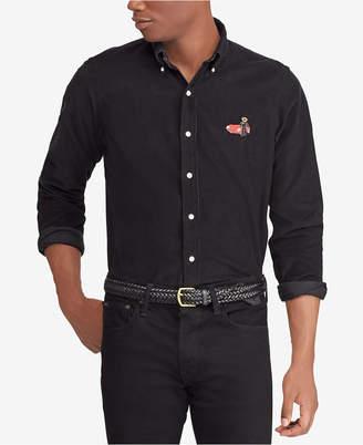Polo Ralph Lauren Men's Classic Fit Corduroy Polo Bear Shirt