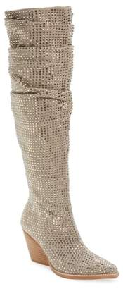 Jeffrey Campbell Controlla Slouch Over the Knee Boot
