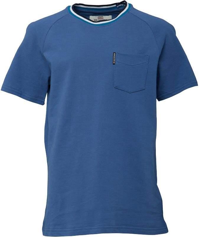Junior Boys Pique Raglan T-Shirt Federal Blue