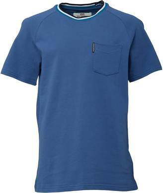 Ben Sherman Junior Boys Pique Raglan T-Shirt Federal Blue