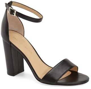 Ivanka Trump 'Klover' Block Heel Ankle Strap Sandal (Women) $134.95 thestylecure.com
