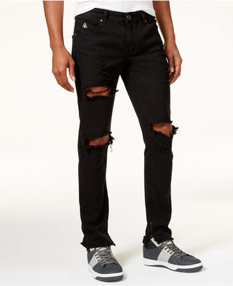 American Stitch Men's Slim-Straight Ripped Jeans $60 thestylecure.com