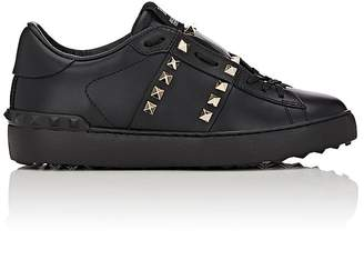"Valentino Women's ""Open"" Leather Sneakers"