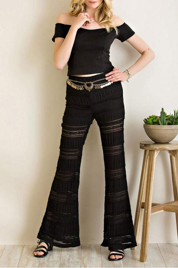 Black Bell Bottoms - ShopStyle Australia