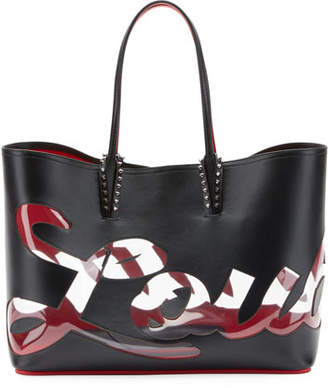 Christian Louboutin Cabata Logo Paris Tote Bag