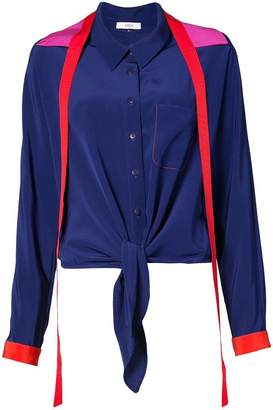 Area colour-block shirt
