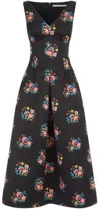 Emilia Wickstead Bloom Floral Dress