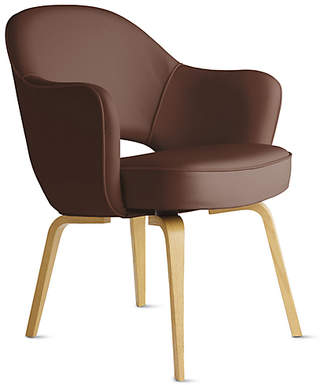 Design Within Reach Saarinen Executive Armchair - Wood Legs