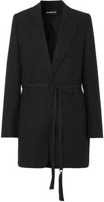 Ann Demeulemeester Belted Wool Blazer