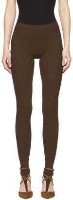 Jacquemus Brown Les Collants Leggings
